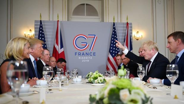 Voditelji sedmih najbolj razvitih držav bodo razpravljali predvsem o trgovinski vojni (foto: profimedia)