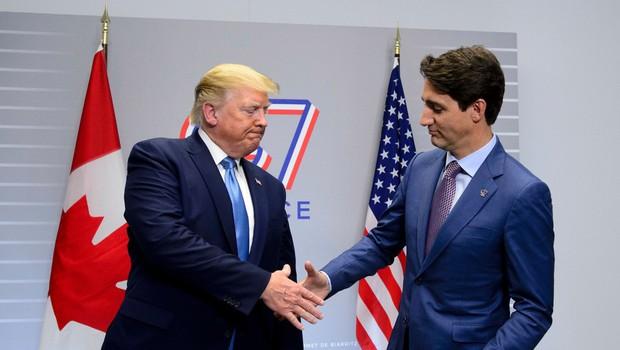 Na vrhu G7 so voditelji najrazvitejših držav razpravljali o trgovini (foto: profimedia)