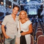 VIP foto Panč z Vidom Valičem in Ivanom Šaričem (foto: Tomaž Kos)