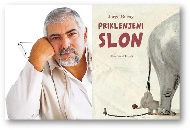 Jorge Bucay ob izidu slikanice Priklenjeni slon prihaja v Ljubljano! (foto: emka.si, Mladinska knjiga)