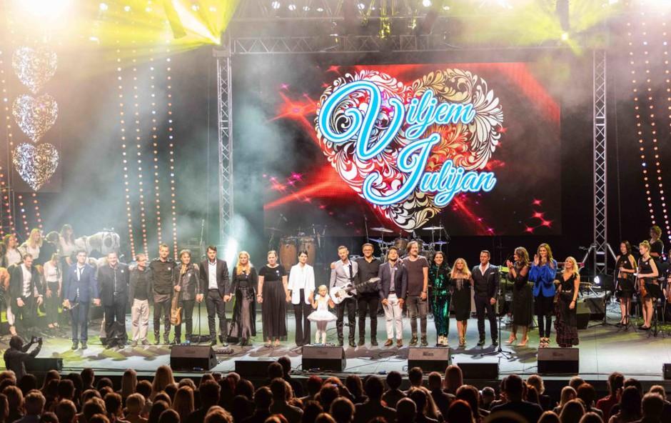 Veliki dobrodelni koncert Viljem Julijan za otroke z redkimi boleznimi (foto: Viljem Julijan Press)