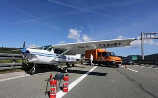 Hrvaški pilot v 14 dneh dvakrat zasilno pristal - na avtocesti in vojaškem letališču
