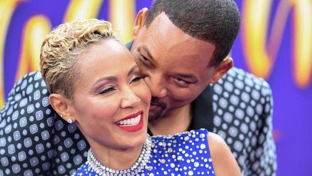 "US actor Will Smith and his wife actress Jada Pinkett Smith attend the World Premiere of Disney's ""Aladdin"" at El Capitan theatre on May 21, 2019 in Hollywood., Image: 435502202, License: Rights-managed, Restrictions:, Model Release: no, Credit line: Profimedia, AFP (foto: Profimedia)"