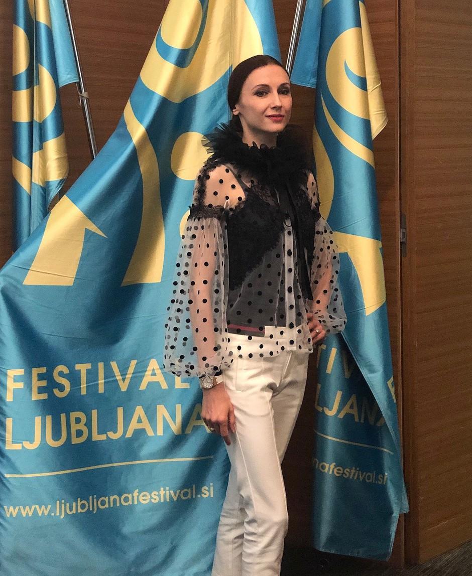 Zaključni teden 67. Ljubljana Festivala; Svetlana Zaharova pripravlja nepozaben baletni večer (foto: Alesh Maatko)