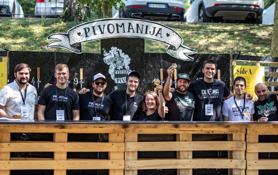 Pisani svet butičnega piva navdušil obiskovalce 6. Pivomanije (foto: Anita Ferjančič)