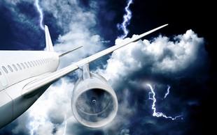 Panika na letalu; nad Ljubljano strela zadela letalo srbskega zunanjega ministra