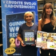 Mama in babica ponosni na kar dva Guinnessova rekorda Luke Dončića