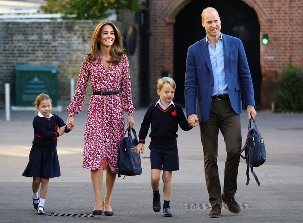 Takole ljubka je bila princesa Charlotte na prvi šolski dan (foto: Profimedia)