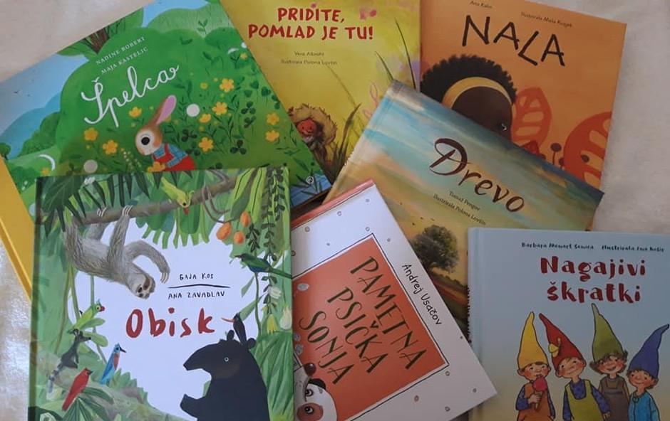 7 čudovitih novih slikanic v priljubljeni zbirki Čebelica! (foto: Mladinska knjiga)