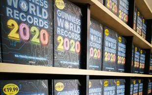 Guinnessova knjiga rekordov za leto 2020 že v prodaji!