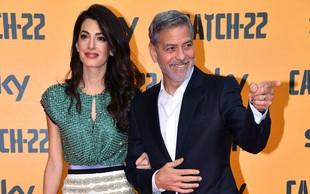 Je samoizolacija res slabo vplivala na zakon Georgea in Amal Clooney?
