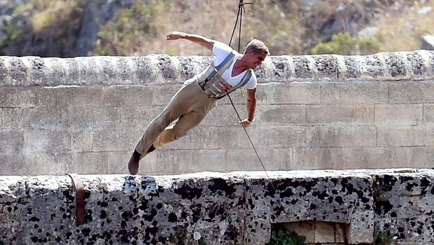 Ne, ni Daniel Craig, temveč njegov dvojnik v novem filmu o J. Bondu. (foto: Profimedia)