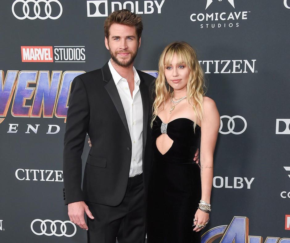 Gresta Liam Liam Hamsworth in Miley Cyrus narazen; komu je bolj žal?! (foto: Shutterstock)