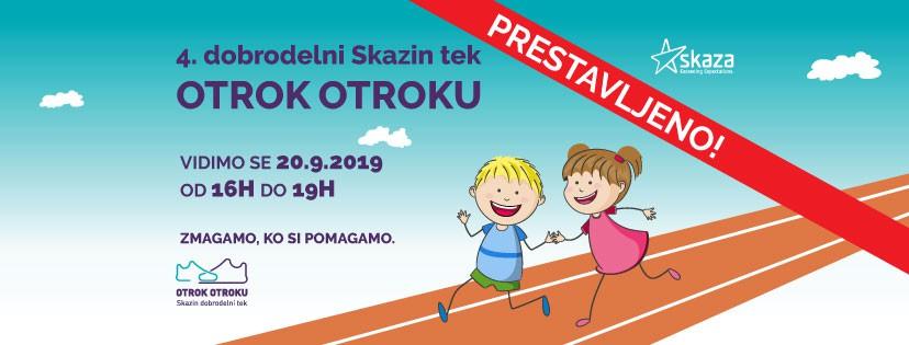 Tek Otrok otroku prestavljen na 20. september (foto: Skaza Press)