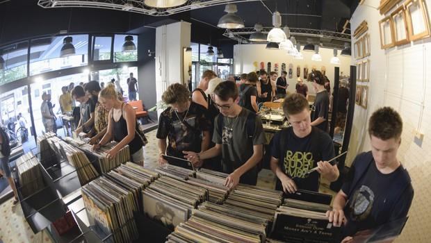 Ljubljanski didžeji, kreativci in oblikovalci pod skupno streho trgovine BigNose (foto: BigNose Press)
