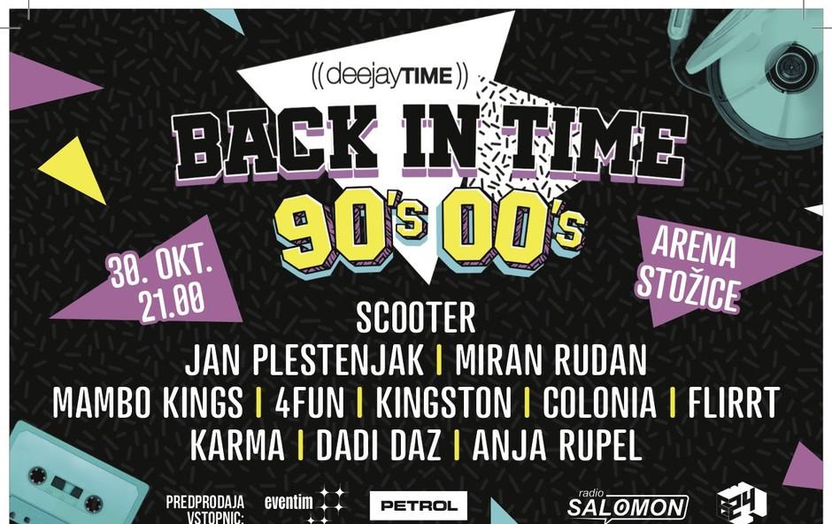Arena Stožice bo gostila DJT 90's/00 Back In Time! (foto: DYT Press)