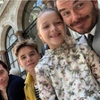 8-letna Harper Beckham je bila zvezda modne revije