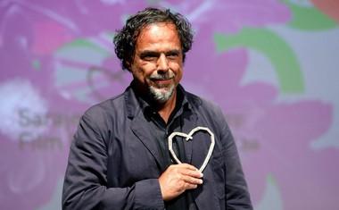 Mehiški režiser Alejandro Gonzalez Inarritu se tudi ponaša z nagrado častno srce Sarajeva.