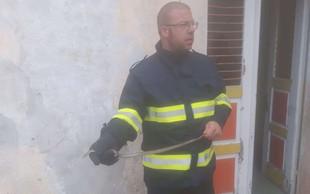 Gasilci na Hrvaškem lovili kačo v otroškem vrtcu