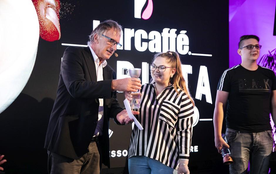 Slovenka Tjaša Rogelj je zasedla drugo mesto (foto: Barcaffè Barista Cup)