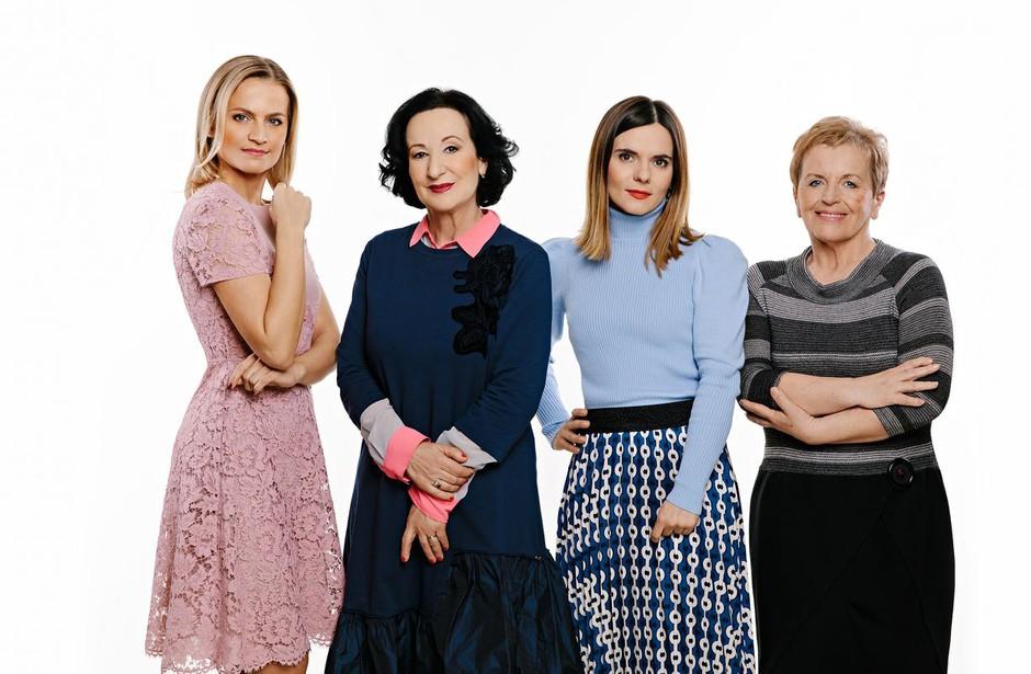 Bodo za komentatorsko mizo zopet sedle Katarina Kresal, Polona Vetrih, Valentina Smej Novak in Milena Miklavčič? (foto: Urša Premik)