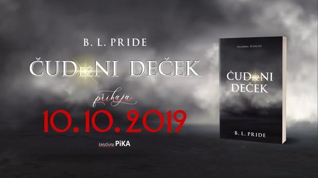 B. L. Pride z novim romanom ČUDežNI DEČEK! (foto: B.L. Pride Press)