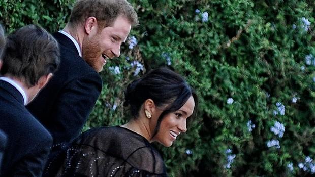Poroka v Rimu: Največ pozornosti pritegnila Meghan in Harry (foto: Profimedia)