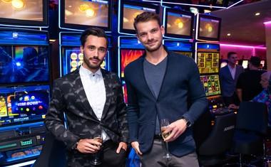 Na dogodek sta prišla tudi Mister Slovenije 2015, Matjaž Lesjak in lastnik modne blagovne znamke GT Collection, Gašper Tratnik.