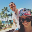 Barbara Ogrinc in Rok Žlindra znova uživata na rajskih Havajih