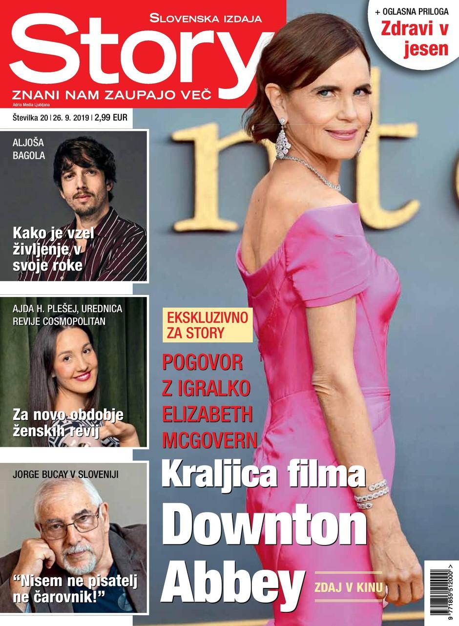 Ekskluzivno za revijo Story: Pogovor z igralko Elizabeth McGovern (foto: Story)