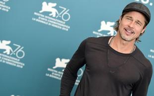 Brad Pitt odkril Yeezusa v cerkvi Kanyeja Westa