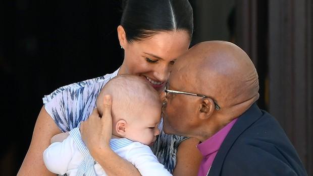 Harry in Meghan na srečanju z Desmondom Tutujem (foto: profimedia)
