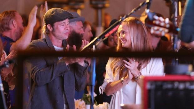 Ima Brad Pitt res novo ljubezen? (foto: Profimedia)