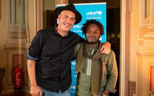 Svetovno znani UNICEF-ov ambasador Ishmael Beah obiskal Slovenijo