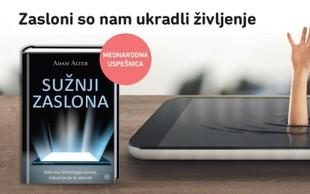 Sužnji zaslona - knjiga o sodobnih zasvojenostih s tehnologijo!