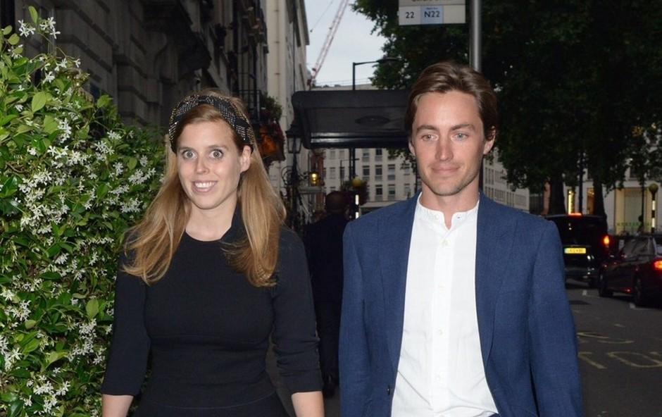Britanska princesa Beatrice se je zaročila z italijanskim milionarjem (foto: Profimedia)