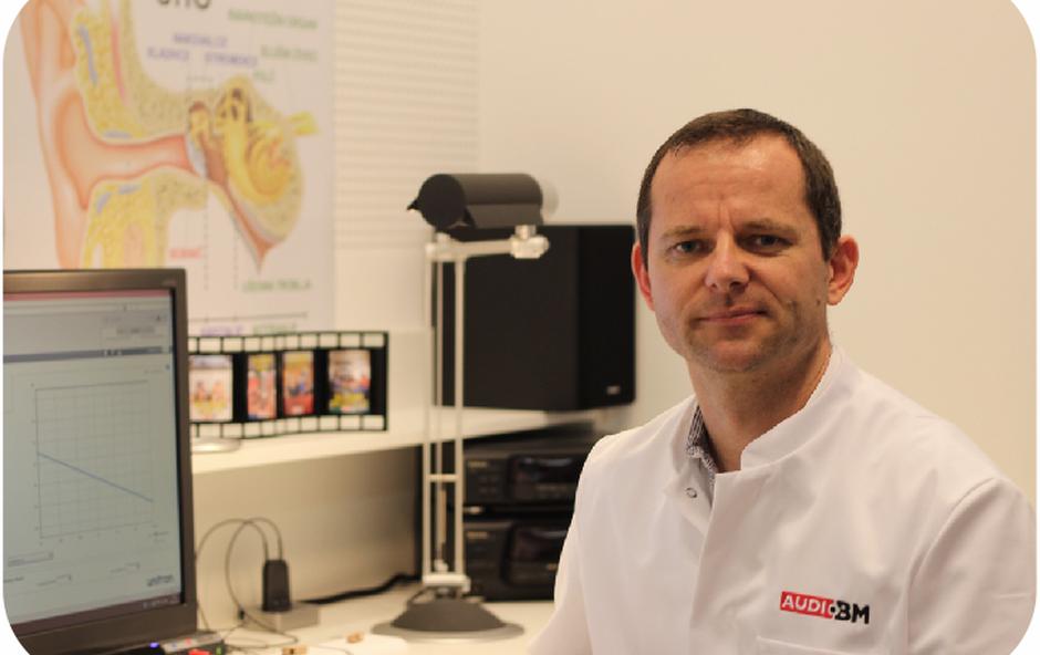 Franci Urankar, direktor slušnih centrov AUDIO BM (foto: Audio BM)