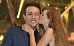 Alex Volasko storil prvi korak na poti do poroke s Sašo Lešnjek