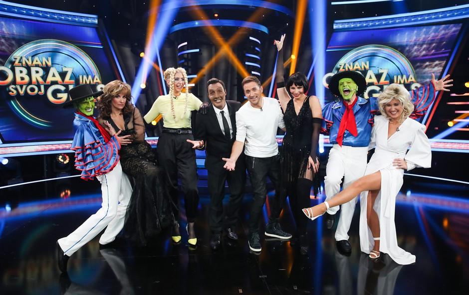 Poglejte, kaj se je dogaja v zakulisju šova Znan obraz ima svoj glas! Miha Krušič: Zdaj nimate več izgovorov (foto: Miro Majcen / POP TV)