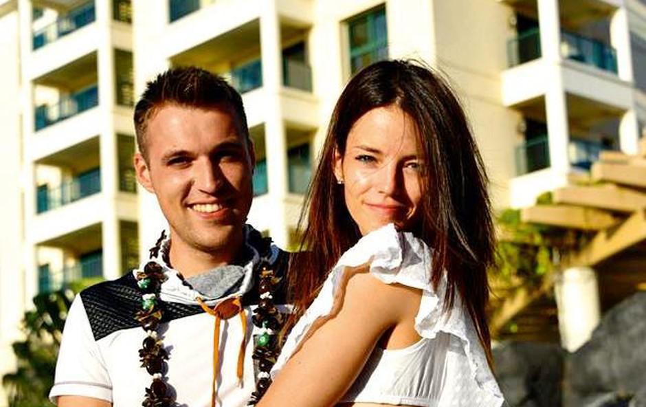 Horoskopsko ujemanje: Rok Žlindra in Barbara Ogrinc (foto: Osebni album)