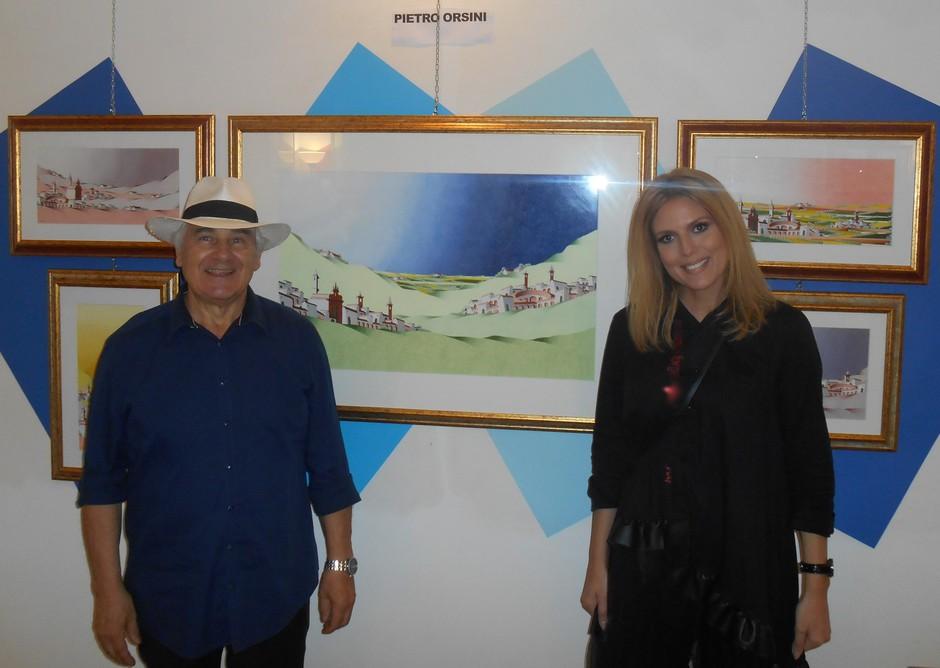 Giannijeva Patricija Simonič na umetniškem potovanju v Italiji pokazala vrhunske kreacije (foto: Promo foto)