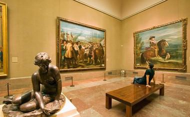 Muzej Prado, hram številnih ljubiteljev klasične umetnosti.