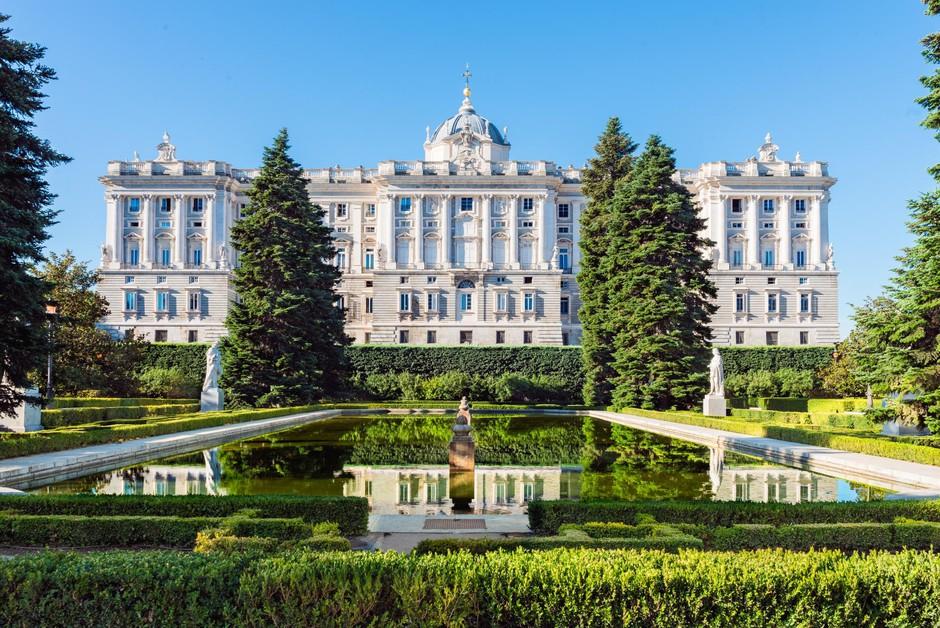 Kraljeva palača je ena od glavnih znamenitosti Madrida. (foto: Foto: Shutterstock)