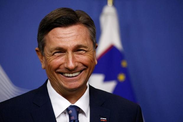 Predsednik Pahor navdušuje z 'odštekanimi zokni' (foto: Profimedia)