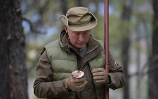 Putin praznuje rojstni dan: Ob tej priložnosti se je odpravil gobarit