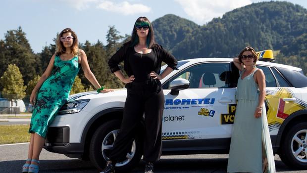 Tudi znani obrazi imajo na cesti nerodne trenutke in velike strahove (foto: Planet TV)