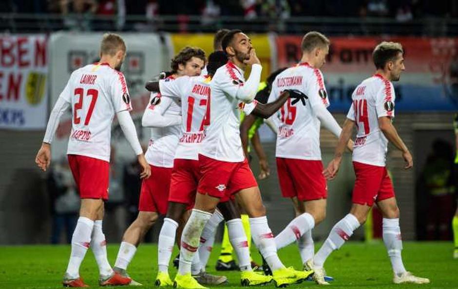Nogometaši Leipziga dobili prepoved nakupovanja na proste dni (foto: Ximhua/STA)