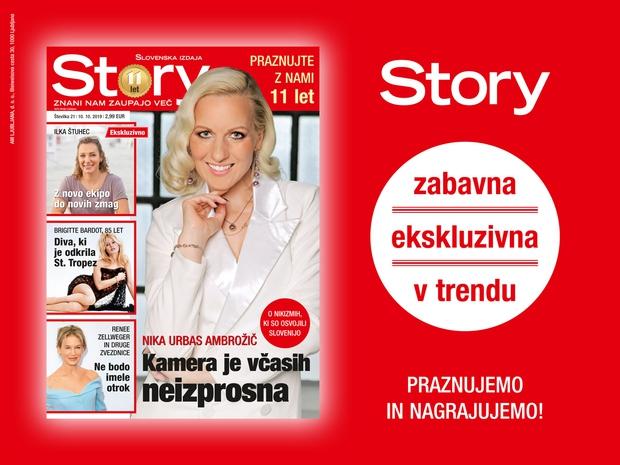 Ob 11. rojstnem dnevu revija Story samo 1 evro (foto: Promocijsko gradivo)