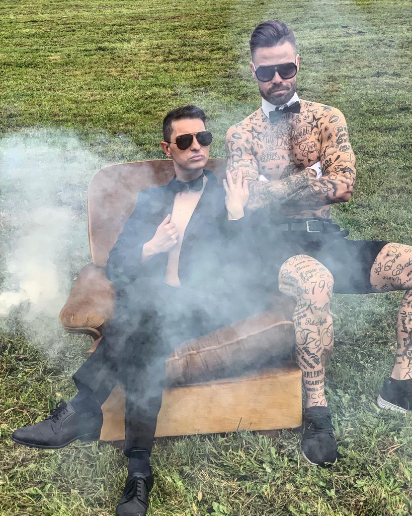 Bo šel Damjan Murko z vročim striptizerjem Tadejem do konca? (foto: Uroš Apostolovič-Apo)