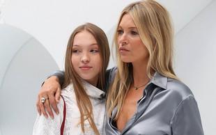 Lepa hčerka po maminih stopinjah: Kate Moss je nadvse ponosna na svojo Lilo Grace!